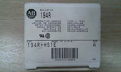 New 194R-HS1E (AB) Allen Bradley on-off handle for isolator/disconnect switch