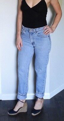 Vintage USA LEVIS 550 Tapered Leg Mom Jeans Distressed 30 x 30.5