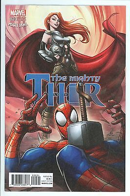 Mighty Thor #20 Patrick Brown Mary Jane Variant Cover - Marvel Comics/2017