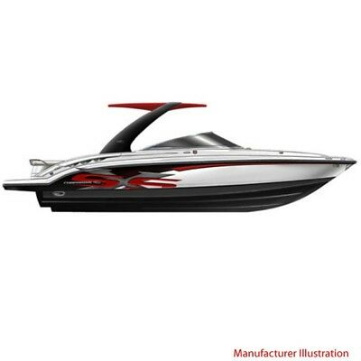 Chaparral Boat Hull Graphic 14.00403 | SSX 236 Carbon Red (4 Pc Set)
