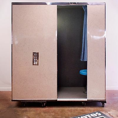 Vintage Photo Booth - Model 17 - Restored 1968 Analog Photobooth by Photo-Me