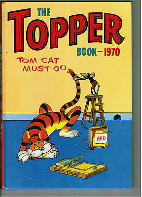 TOPPER BOOK 1970 - nice old annual