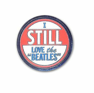 The Beatles I Still Love The Beatles new Official Metal Pin badge One Size
