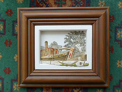 Sketches Canalboat David J Simpson 'waiting For The Lock' '97 Fowberry Fine Art
