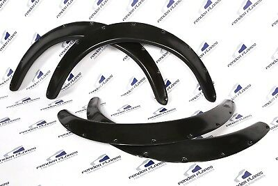"UNIVERSAL Fender Flares JDM  Wheel arches SET 2.4"" wide 2 pieces"