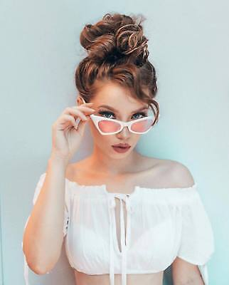 NEW Classic Retro Vintage Cat Eye Style Small Sunglasses Fashion Frame