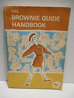 The Brownie Guide Handbook Ailsa Brambleby Girl Guides WAGGGS Vintage 1968