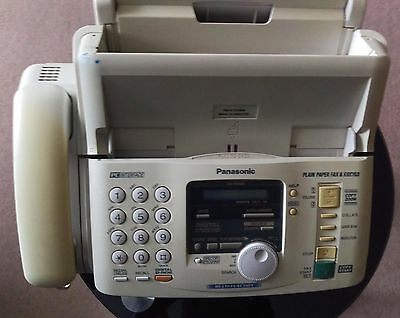 Panasonic KX Fm189 corded telephone PC interface plain paper fax & copier