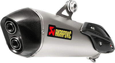 Akrapovic Slip-On Exhaust System For BMW C650 Sport 2016 Titanium S-B6SO7-HZAAT