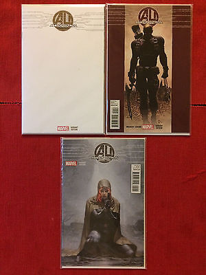 Age Of Ultron #1-#2 3-Book Lot Deodato Blank Yoon Variants Marvel Comics