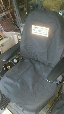 Jcb Fastrac Seat Covers Pack Of Two. Genuine Jcb Part. £15 + Vat