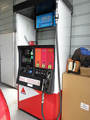 Qty  2 Citgo Gas Station Pumps W/credit Card Readers New Calibrations