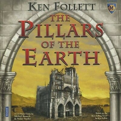 The Pillars of the Earth: PRESALE base/core board game (2017 edition) thames and