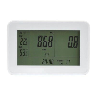 Meter Carbon Dioxide Monitor Temperature Tester Data Logger Humidity Meter