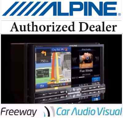 """Alpine INE-W957A 7"""" Navigation system (with FREE reverse camera)"""