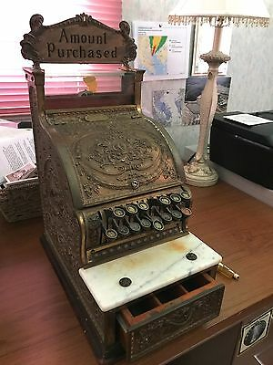 Antique National Cash Register Model 313, 1914