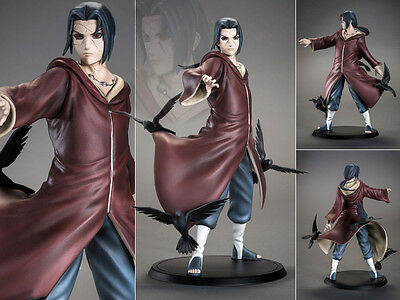 Collections Anime Figure Toy Naruto Uchiha Itachi Tsume Figurine Statues 17cm