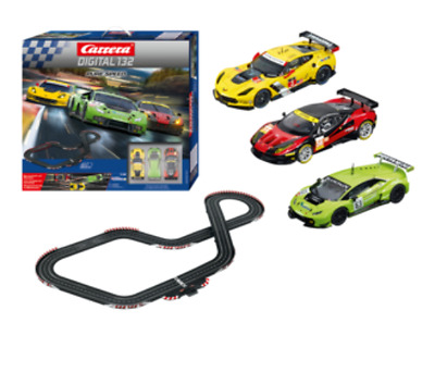 Carrera Digital 132-Pure Speed Set 8m 3 Cars CAR-30191 Brand New Slot Car Set