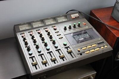 Tascam 244 Portastudio 4-track Cassette Tape Multitrack Recorder