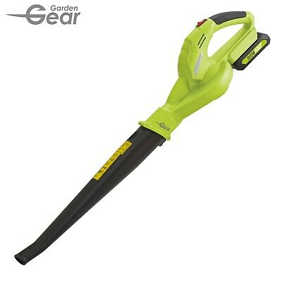 Garden Gear 20V Cordless Leaf Blower Powerful Compact Lightweight