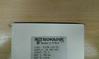 New TLK38 LCR-M1- Technologic thermo regulator/temperature controller 24v