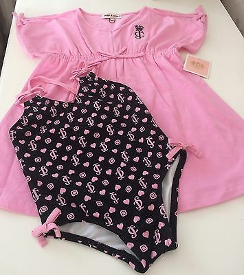 Juicy-Couture-designer-baby-girl-swimsuit with Cover up