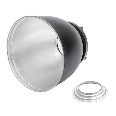 High-Performance 65° Studio Reflector with Hensel Fitting Speedring Hair Low Key