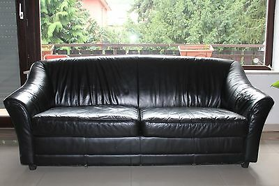 sandfarbene couchgarnitur 3er 2er sofa und sessel eur 30 00 picclick de. Black Bedroom Furniture Sets. Home Design Ideas