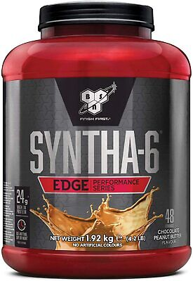 BSN Syntha 6 Edge 1.8kg Whey Protein Powder Isolate & Casein 48 Servings