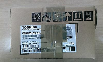 New VFNC3S-2002PL Toshiba transistor inverter/frequency converter  1PH-200/240V