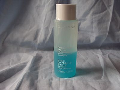 Clarins Instant Eye Make-Up Remover Full Size 125Ml Brand New & Sealed