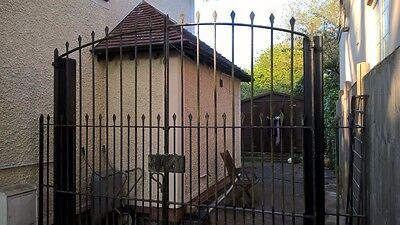 Original Victorian Wrought Iron Gates