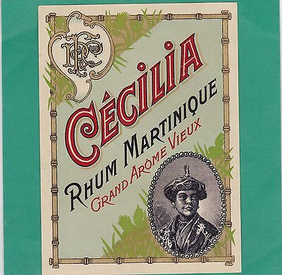 R38  Rhum  Cecilia Martinique Grand Arome