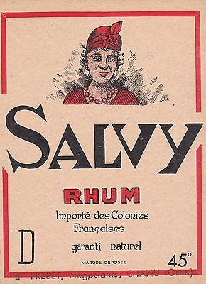 R183 Rhum Salvy Naturel Frebet Negociant Chanu Orne 45°