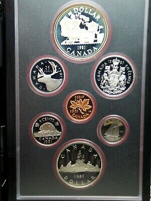 1981 Royal Canadian Mint Double Dollar Specimen Set Box & COA    ECC&C, Inc.