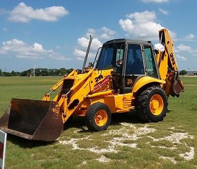 JCB 214 Series 2 Backhoe Loader - Only 4100 hrs - City Maintained Machine