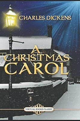 A CHRISTMAS CAROL by Charles Dickens New Paperback Book