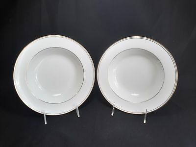 Noritake Golden Traditions  7807 Set of 2 Rim Soup Bowls