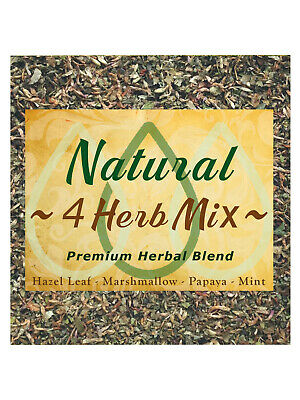 4 Herb Mix  relaxing helps to quit tobacco & nicotine  50g herbal tea making etc