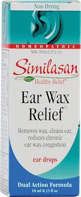 Ear Wax Relief Drops, Similasan, 10 ml