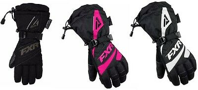 """Fxr """"Fusion"""" Gloves Snowmobile Waterproof Womens - Pick Size & Color - Sale!"""