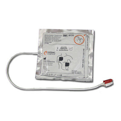 Cardiac Science Powerheart G3 Adult AED Pads (Electrodes) 9131-001 TRAINING