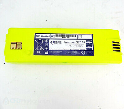 Cardiac Science Powerheart AED G3 Battery 9146 - 102 202 302 LOW OR DEAD