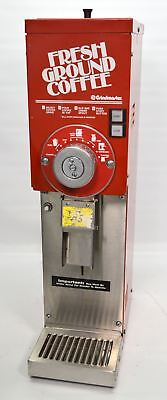 Grindmaster 875 Bulk Retail Coffee Bean Grinder 3 lb. Commercial Grocery Red
