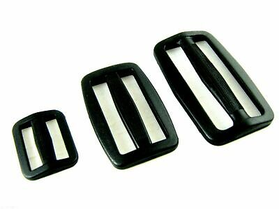 Delrin Plastic Sliders For Webbing - 20mm / 25mm / 40mm / 50mm