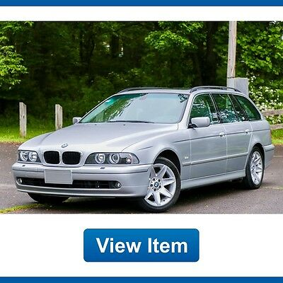 2003 BMW 5-Series Base Wagon 4-Door 2003 BMW 540it Wagon Dealer Serviced Navigation Loaded Cold Weather Carfax