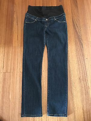 Jeanswest-Maternity Slim Straight Jean-Size 14