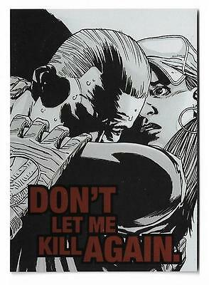 2013 Cryptozoic The Walking Dead Comic Trading cards Quotable QTB-6