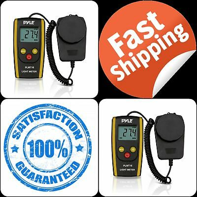 Digital LCD Handheld Photography Light Meter Measures Lux Lumens Photometer