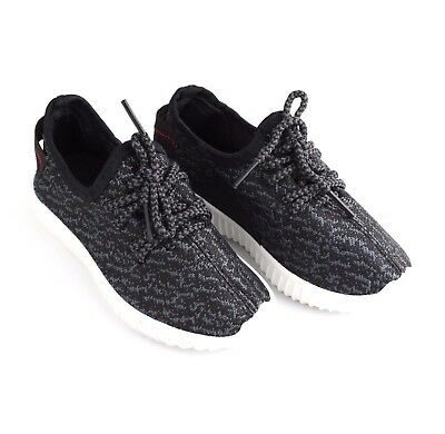 t2y Boy's Black Sneakers Running Shoes Sports Comfort Casual Shoes